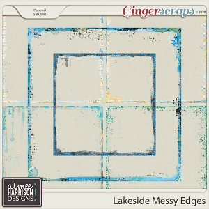 Lakeside Messy Edges by Aimee Harrison