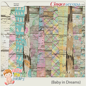 Baby In Dreams Wood Papers