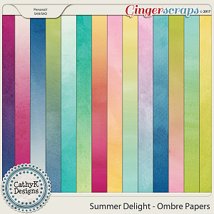 Summer Delight - Ombre Papers