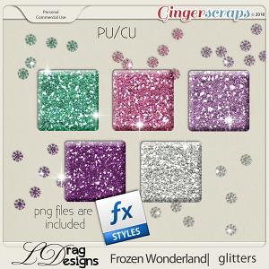 Frozen Wonderland: Glitterstyles by LDragDesigns