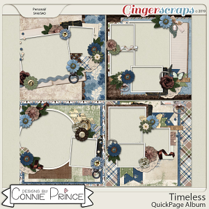Timeless - QuickPages by Connie Prince
