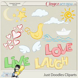 Doodles By Americo: Just Doodles Cliparts