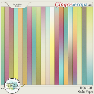 Fresh Air - Ombre Papers - By Neia Scraps