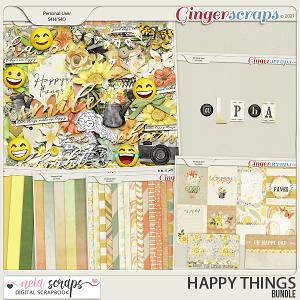 Happy Things - Bundle - by Neia Scraps