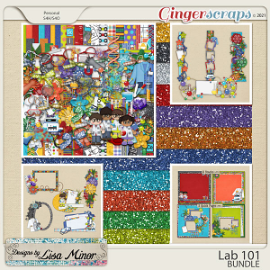 Lab 101 BUNDLE from Designs by Lisa Minor
