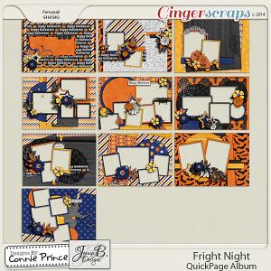Retiring Soon - Fright Night - Brag Book Album