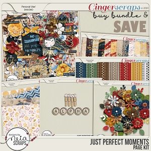 Just Perfect Moments - Bundle - by Neia Scraps