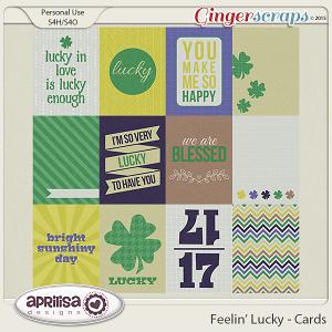 Feelin' Lucky - Cards by Aprilisa Designs