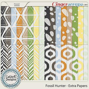 Fossil Hunter - Extra Papers