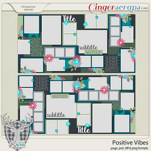 Positive Vibes by Dear Friends Designs by Trina