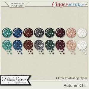 Autumn Chill Glitter CU Photoshop Styles