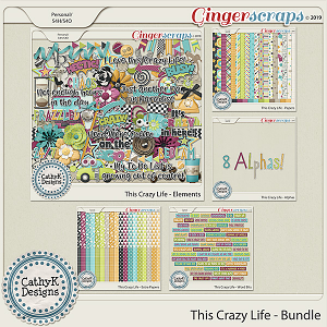 This Crazy Life - Bundle by CathyK Designs