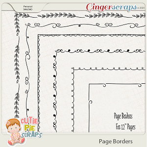 Page Borders 10 By Cutie Pie Scraps