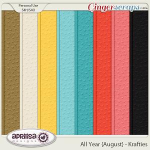 All Year {August} - Krafties