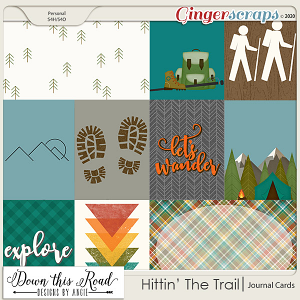 Hittin' The Trail | Journal Cards