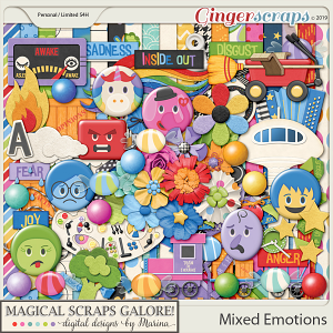 Mixed Emotions (page kit)