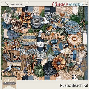 Rustic Beach Kit by JoCee Designs