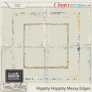 Hippity Hoppity Messy Edges by Aimee Harrison and Tami Miller