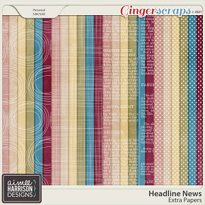 Headline News Extra Papers by Aimee Harrison