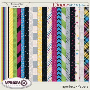 Imperfect - Papers by Aprilisa Designs
