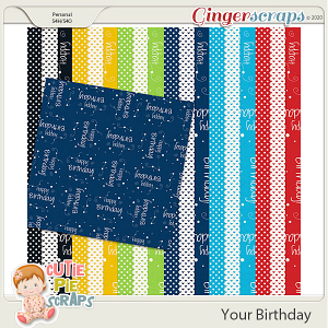 Your Birthday Pattern Papers