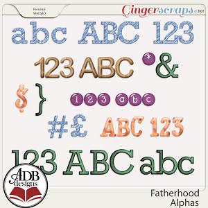 Fatherhood Alphas by ADB Designs