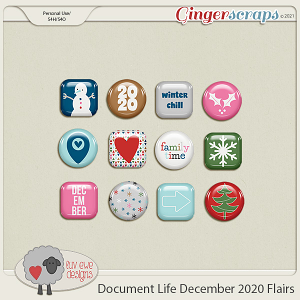 Document Life December 2020 Flairs by Luv Ewe Designs