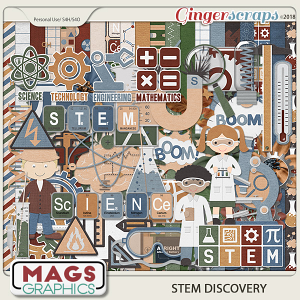 STEM Discovery KIT by MagsGraphics