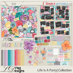 Life Is A Party: The Collection by LDragDesigns