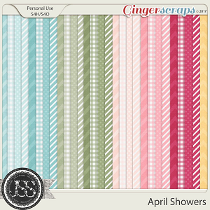April Showers Pattern Papers
