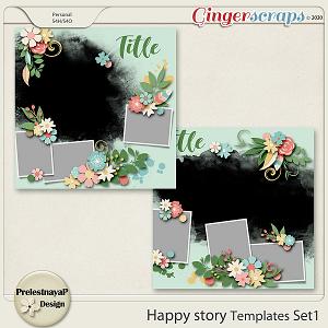 Happy story Templates Set1