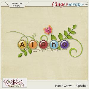 Home Grown Alphabet