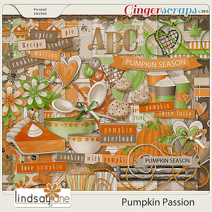 Pumpkin Passion by Lindsay Jane