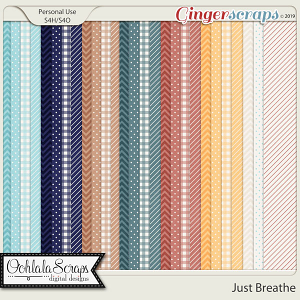 Just Breathe Pattern Papers