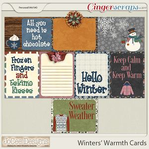 Winters' Warmth Cards