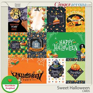 Sweet Halloween - cards