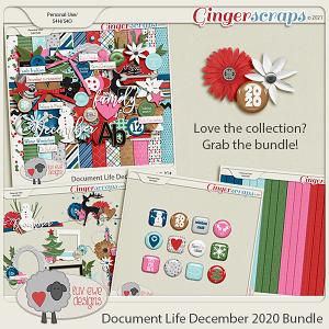 Document Life December 2020 Bundle by Luv Ewe Designs