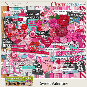 Sweet Valentine by Clever Monkey Graphics