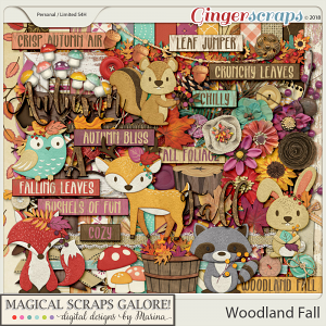 Woodland Fall (page kit)