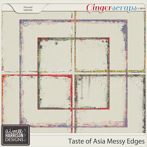 Taste of Asia Messy Edges by Aimee Harrison