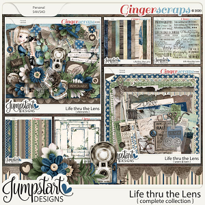 Life thru the Lens {Complete Collection} by Jumpstart Designs