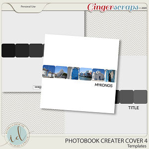 Photobook Creater Cover 4 by Ilonka's Designs