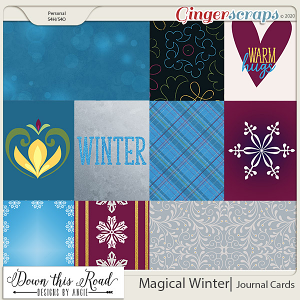 Magical Winter | Journal Cards