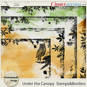 Under the Canopy Stamps&Borders