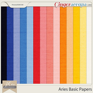 Aries Basic Papers by JoCee Designs