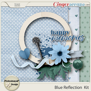 Blue reflections Mini-Kit
