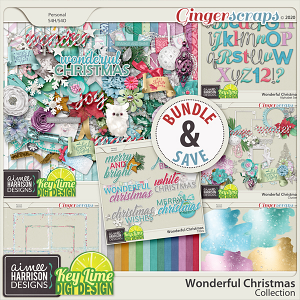 Wonderful Christmas Collection by Aimee Harrison and Key Lime Digi Design