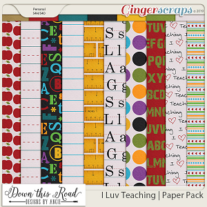 I Luv Teaching | Paper Pack