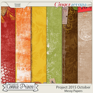 Project 2015 October - Messy Paper Pack