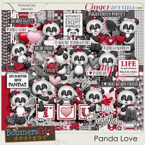 Panda Love by BoomersGirl Designs